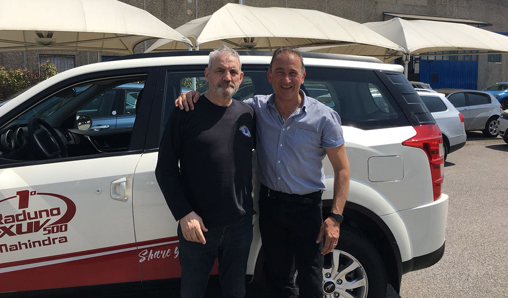 Francesco Salvi ed il Test Drive Mahindra Xuv 500 con Francesco Salvi e Alessandro Cicognani